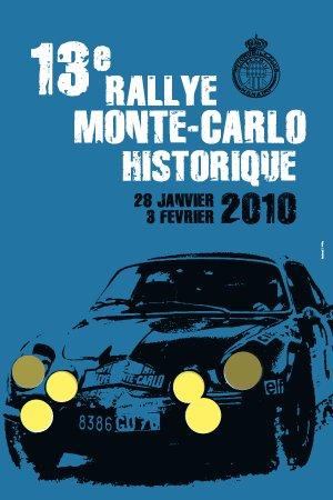 Affiche Monte Carlo historique 2010
