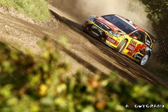 Petter Solberg au rallye d'Allemagne 2010