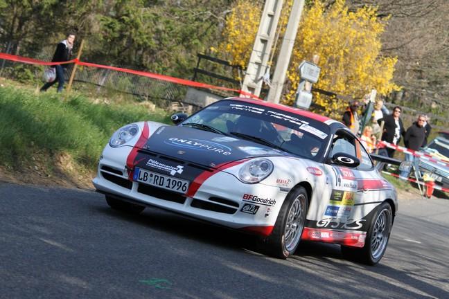Romain Dumas sur une Porsche 911 GT3 RS du groupe GT de série