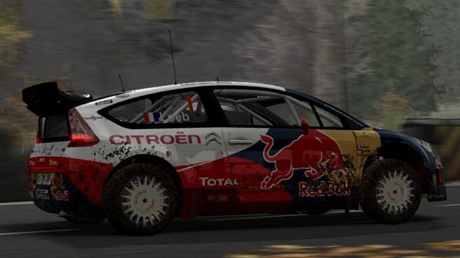 C4 de Loeb dans WRC 6