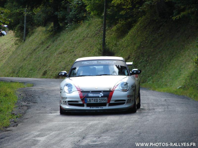 Romain Dumas au rallye du Mont-Blanc 2010