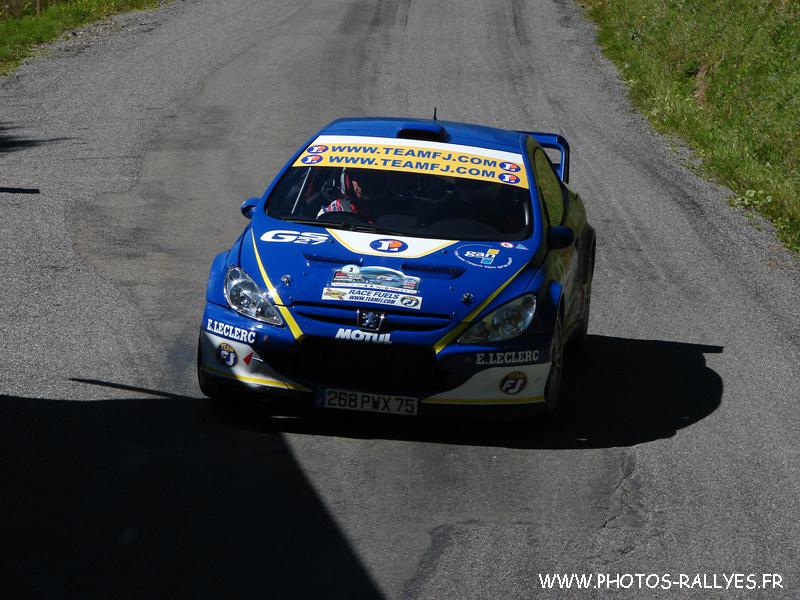 Pierre Roché au rallye du Mont-Blanc 2010