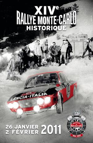 Affiche rallye monte-carlo 2011