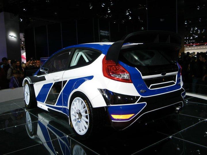 Ford Fiesta au salon de l'auto 2010 à Paris