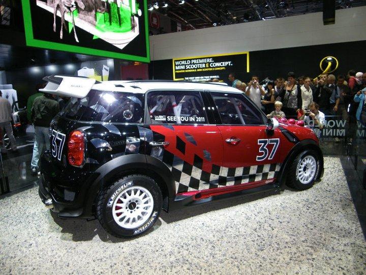 Mini WRC au salon de l'auto 2010 à Paris