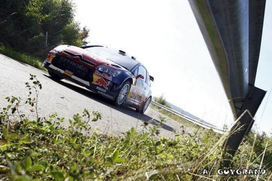 Dani Sordo en 2010 au volant de la C4 WRC
