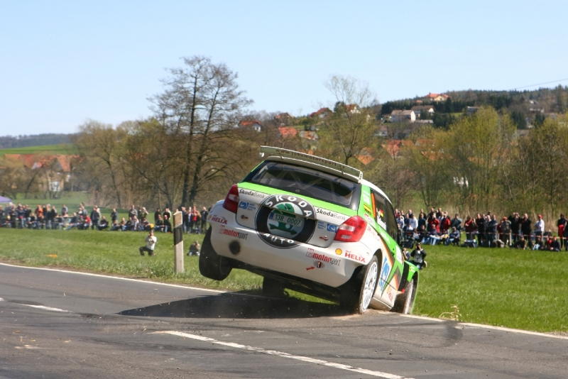 Mark Wallenwein à l'Hessen Rallye 2009