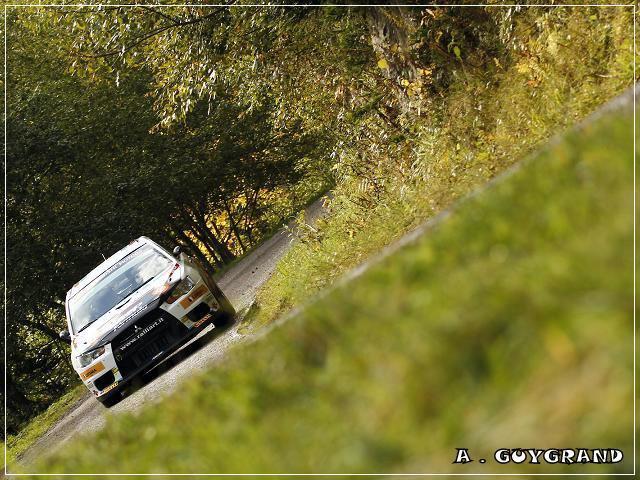 Armindo Araujo au rallye de France 2010