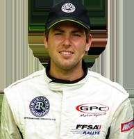 Clément Dub pilote de rallye