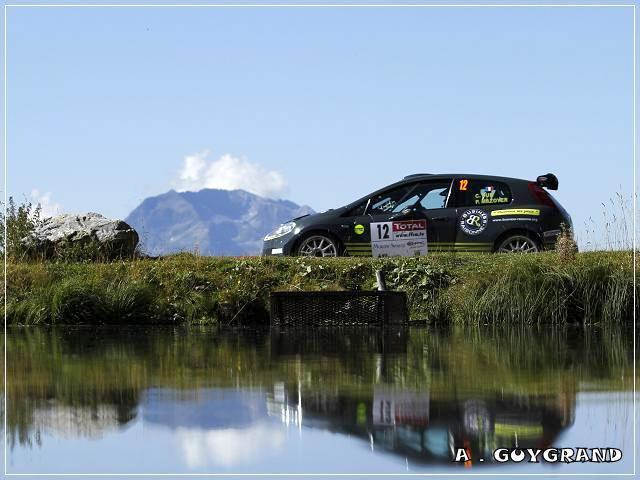 Clément Dub au rallye du Mont-Blanc 2010