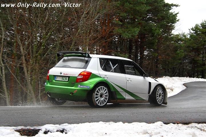 Juho Hanninen essais pour le Monte-Carlo 2011