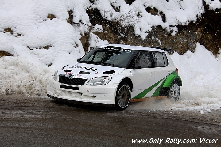 Jan kopecky essais Monte-Carlo 2011