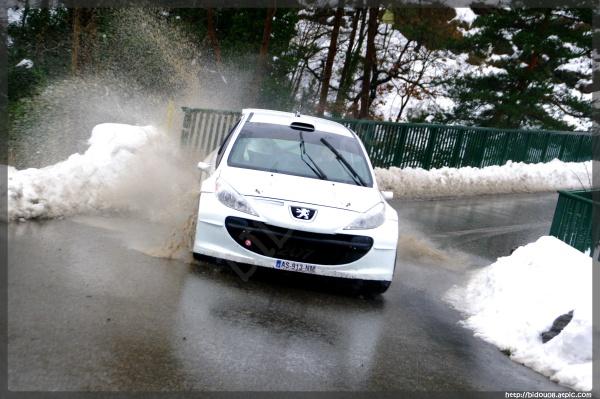 Stéphane Sarrazin test Monte-Carlo 2011