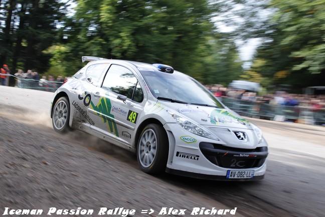 Jean-Sébastien Vigion au rallye de France 2010