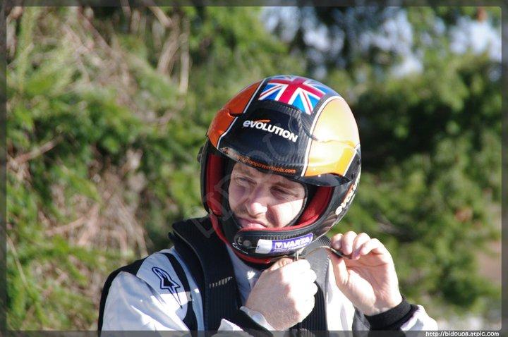 Guy WIlks en essais pour le Monte-Carlo 2011