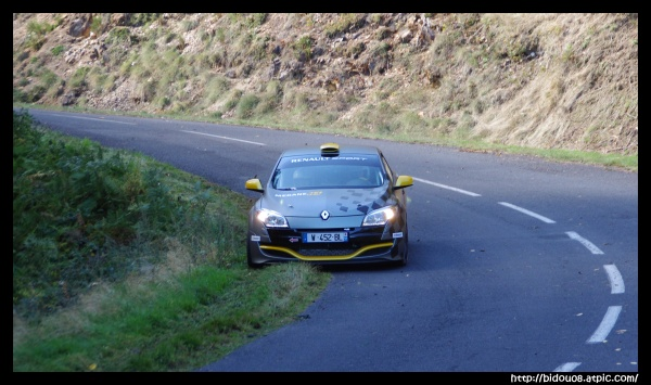 Manu Guigou en test avec Renault Mégane RS N4