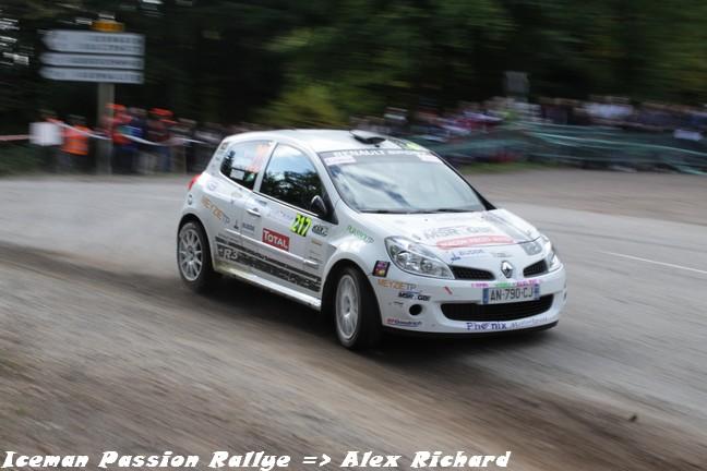 Arnaud Augoyard au rallye de France 2010