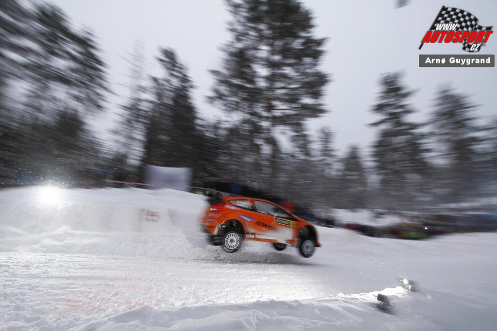 Henning Solberg au rallye de Suède 2011