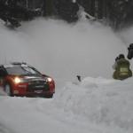 Petter Solberg au rallye de Suède 2011