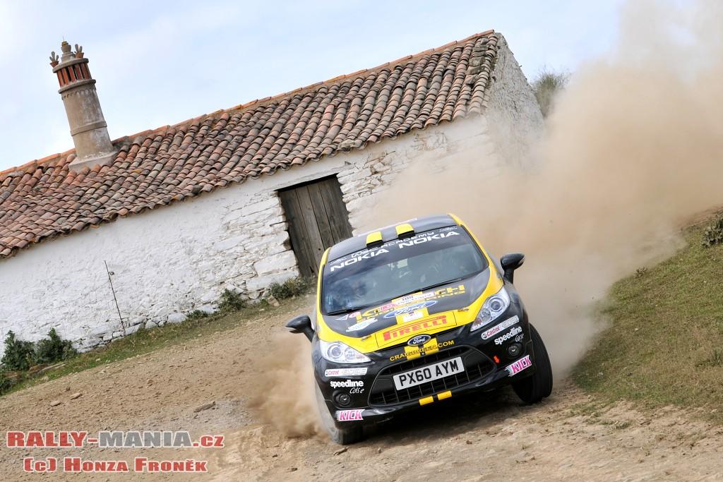 Craig Breen, meilleur performeur de la WRC Académie au rallye du Portugal