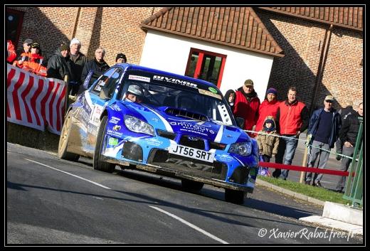 Eric Brunson au rallye du Touquet 2011