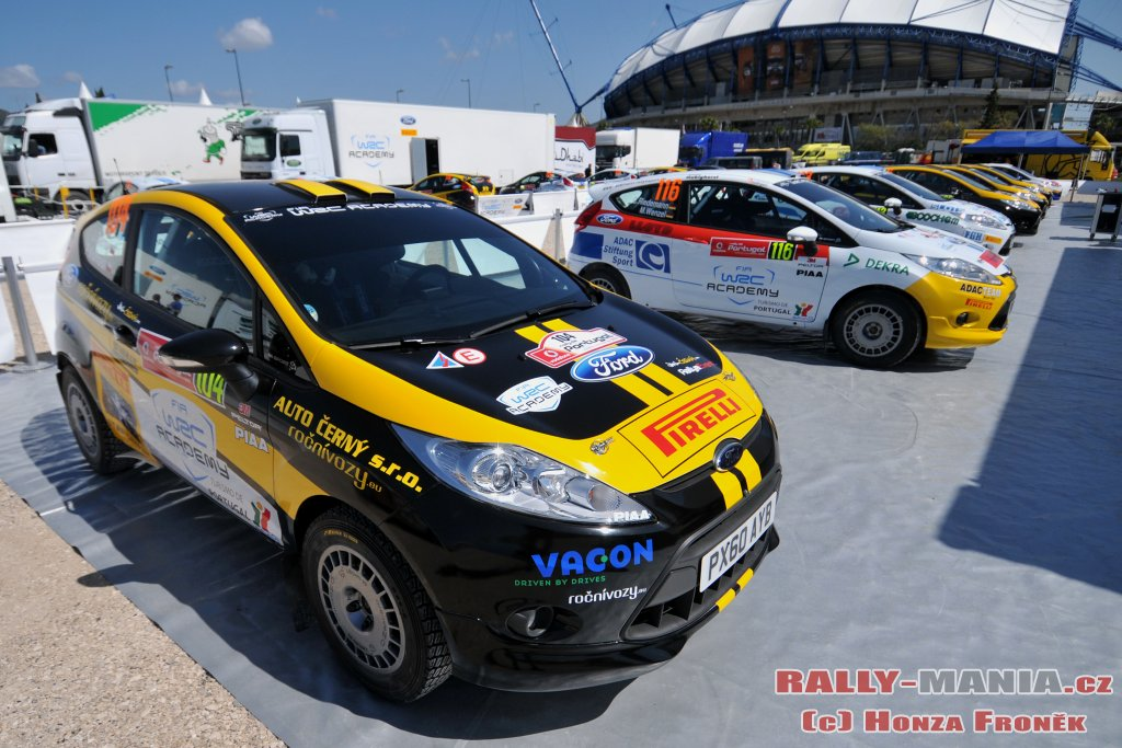 La WRC académie au rallye du Portugal