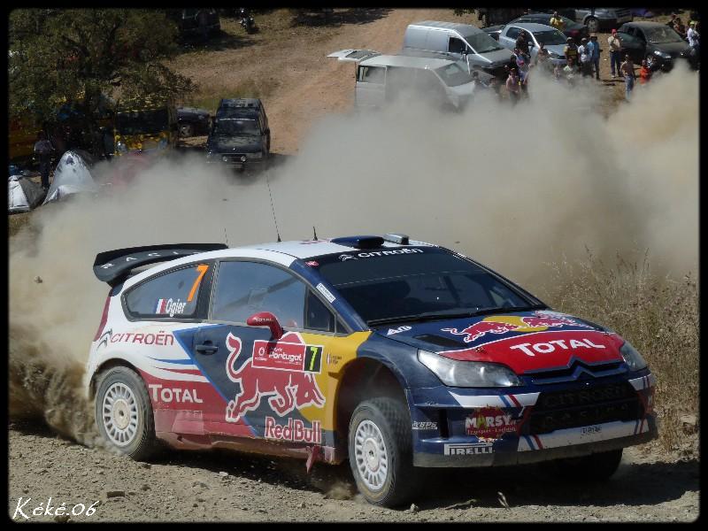 Sébastien Ogier au rallye du Portugal 2010