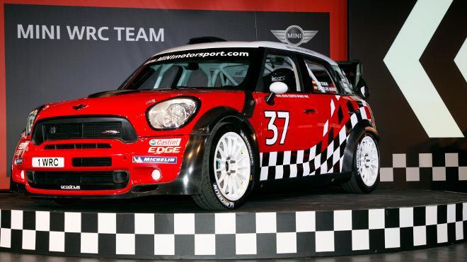 Mini John Cooper Work WRC