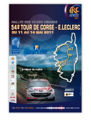 Affiche du tour de Corse 2011