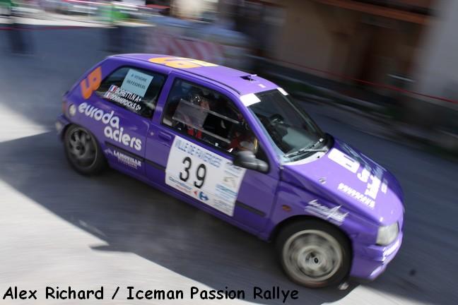Sébastien Dommerdich au rallye de Faverges 2011