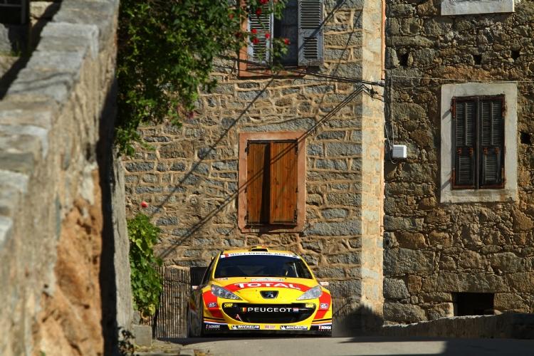 Thierry Neuville au Tour de Corse 2011