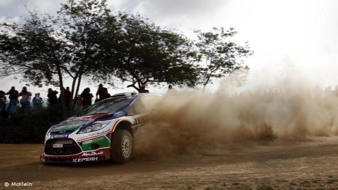 Jari-Matti Latvala au rallye d'Argentine 2011