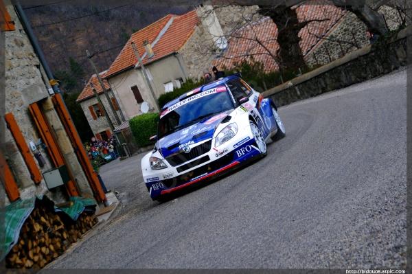 Freddy Loix au rallye Monte-Carlo 2011