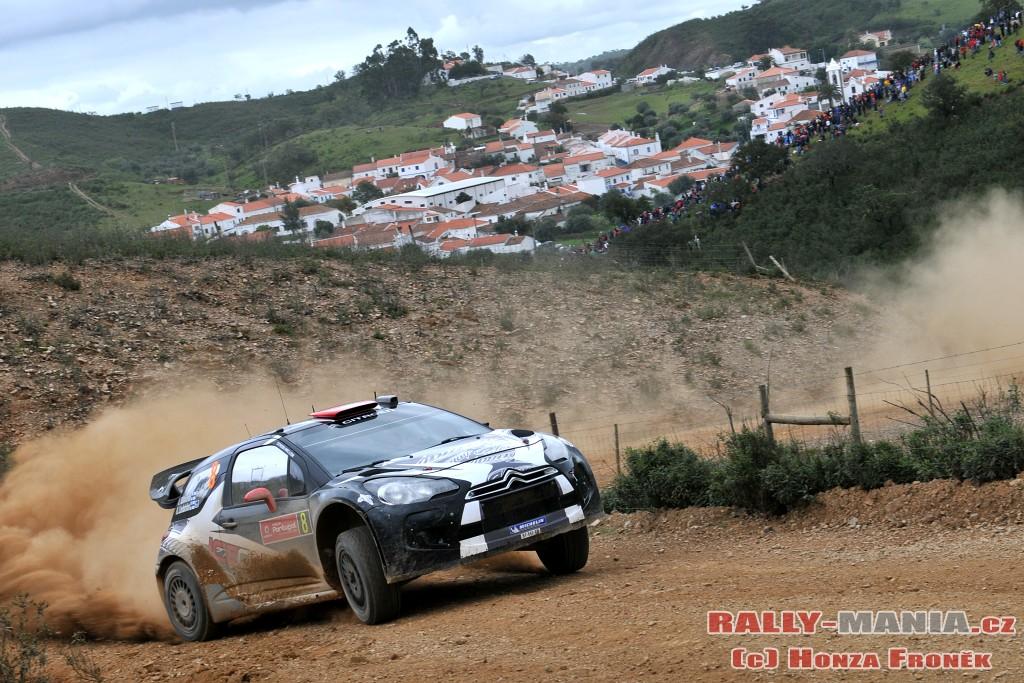 Kimi Raïkkonen au rallye du Portugal 2011