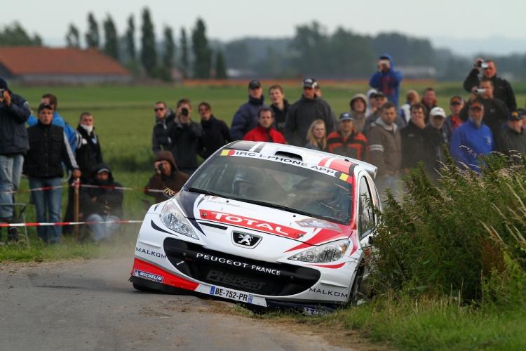 Bryan Bouffier au rallye d'Ypres 2011