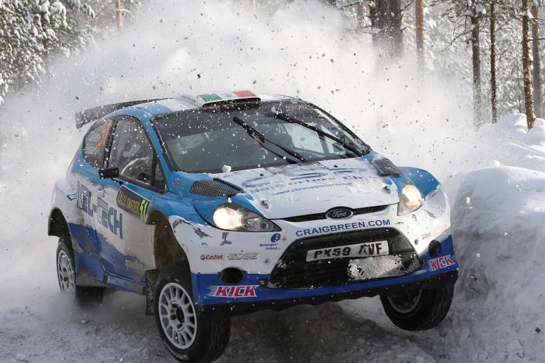 Craig Breen au rallye de Suède 2011