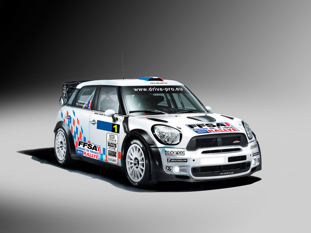 Mini John Cooper Works WRC que conduira Campana