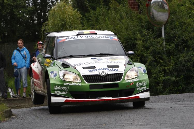 Freddy Loix au rallye du Barum 2010