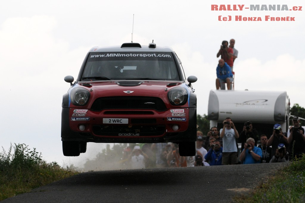 Kris Meeke au rallye d'Allemagne 2011