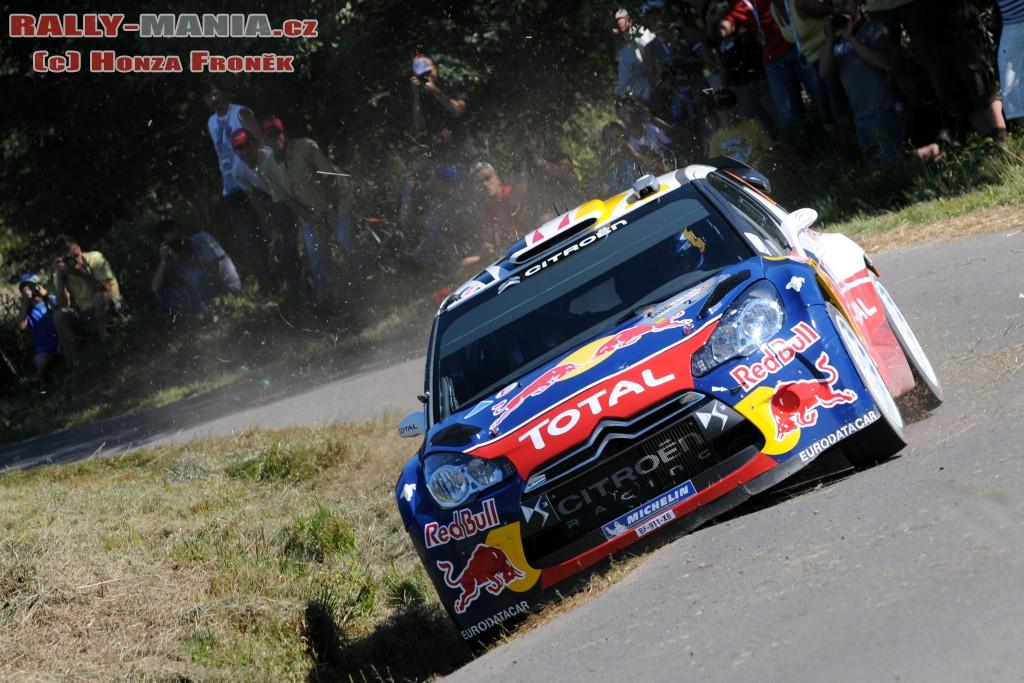 Sébastien Ogier au rallye d'Allemagne 2011