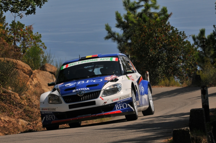 Freddy Loix au rallye Sanremo 2011