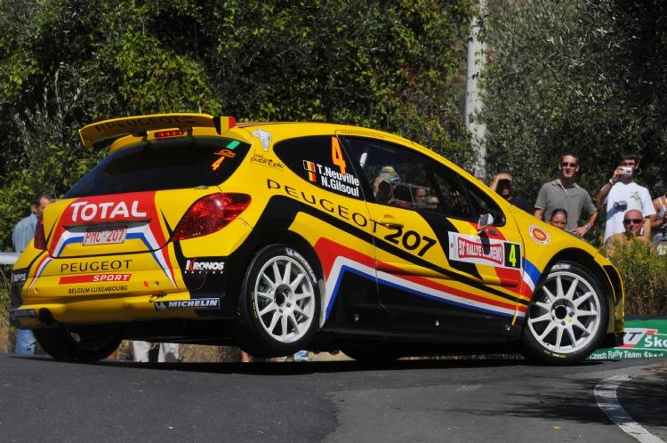 Thierry Neuville au rallye Sanremo 2011