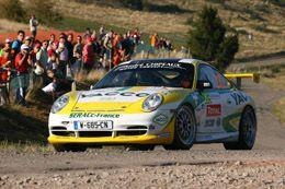 Gilles Nantet au rallye de France