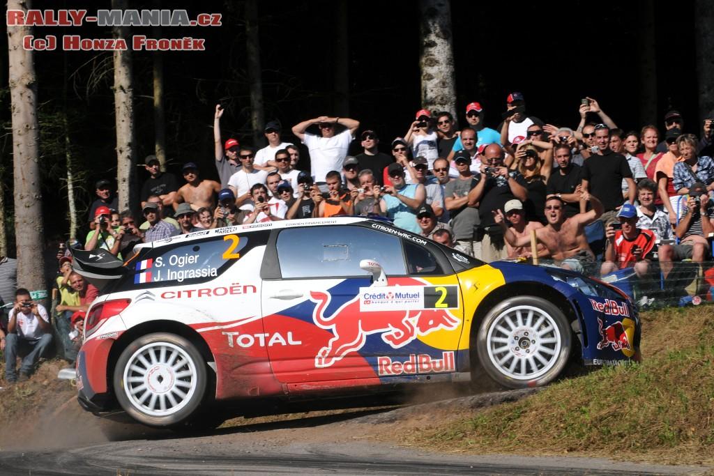 Sébastien Ogier au rallye de France 2011