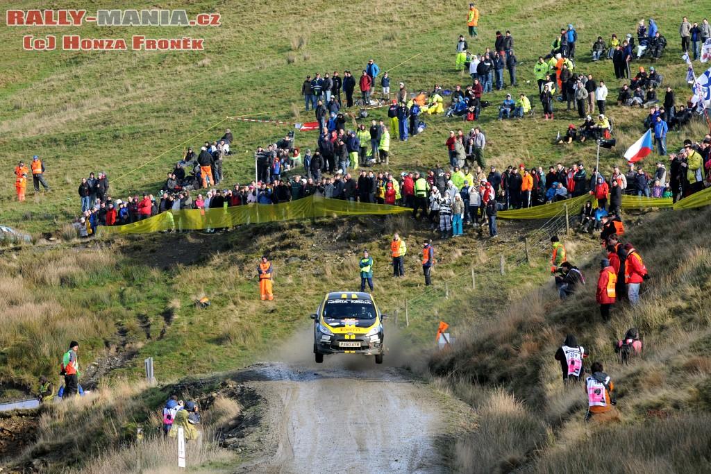 Craig Breen au rallye de Grande-Bretagne 2011