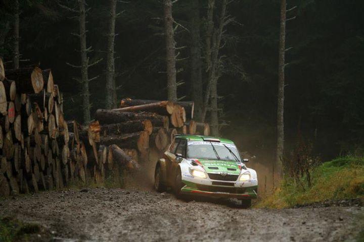 Jan Kopecky au rallye d'Ecosse 2011