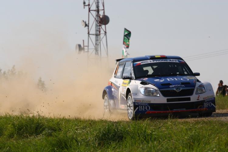 Freddy Loix au rallye du Barum 2011