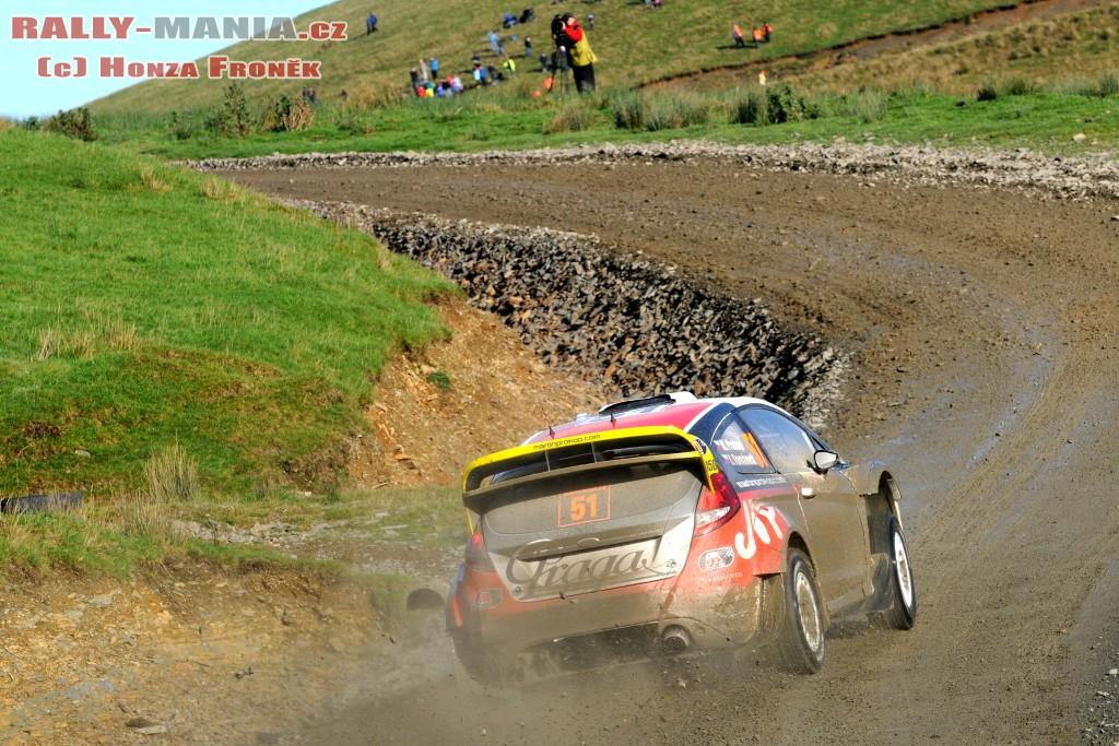 Martin Prokop au rallye de Grande-Bretagne 2011