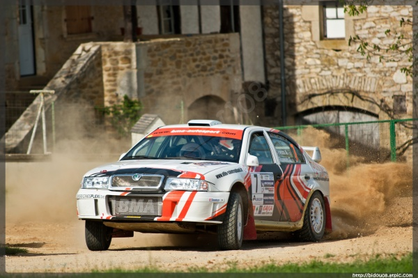 Alain Deveza au rallye terre des Causses 2011