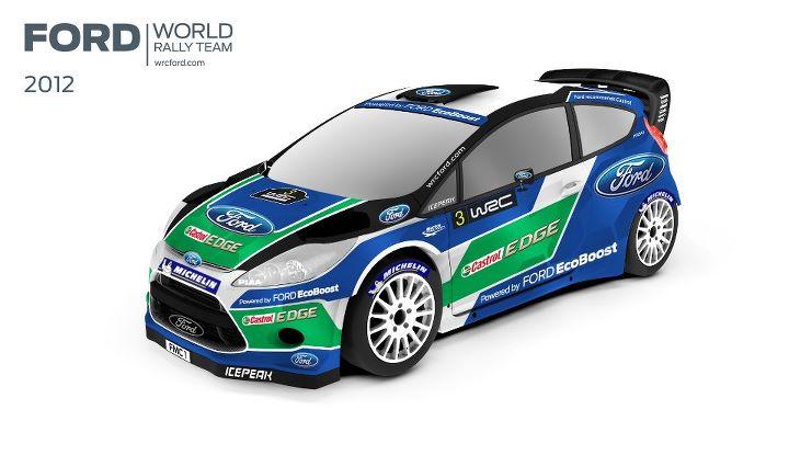 Ford Fiesta WRC pour 2012